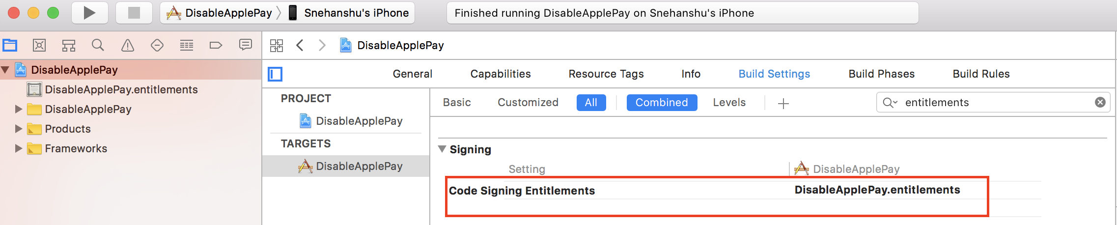 Disable Apple Pay | Code Review Cache